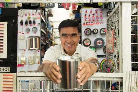 store: Hispanic hardware store
