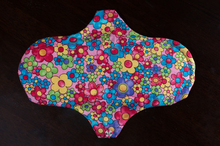 Handmade, eco friendly and organic menstrual pad