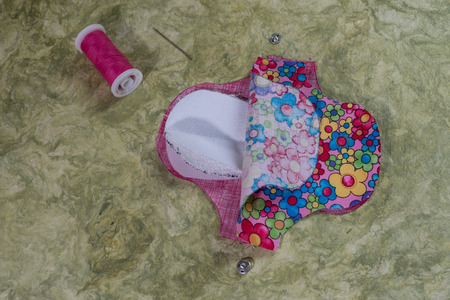 How to handmade an eco friendly and organic menstrual pad