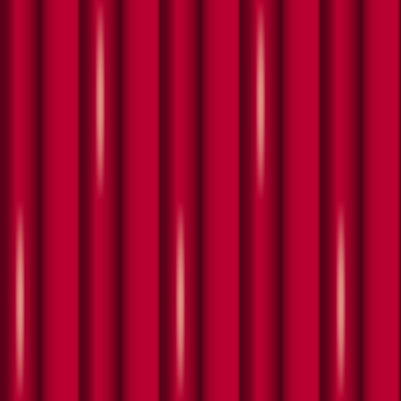 Vector Abstract Background of Red Curtains. Illustration looks like Silk Curtains, Usable like Pattern, Seamless, Backdrop, Packaging, Wrapping and so on