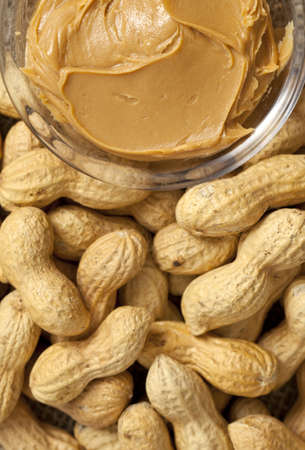 peanut butter and peanuts photo