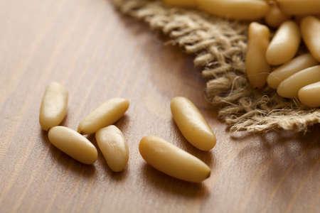 pine nuts photo