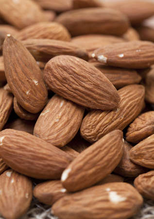 almonds background Stock Photo - 13871663
