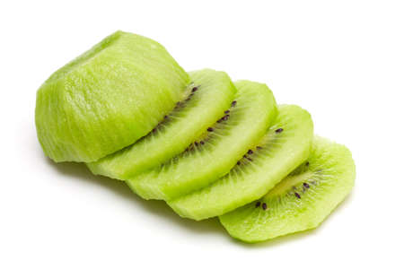 sliced kiwi close up photo