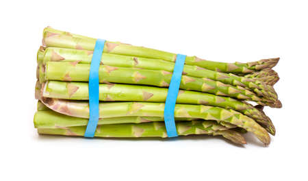 tied asparagus photo