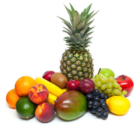 fruta tropical: fruta fresca madura