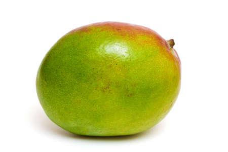 mango fruit isolated on white background photo