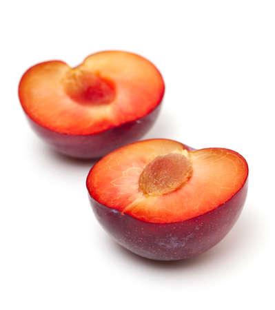red plum close up photo