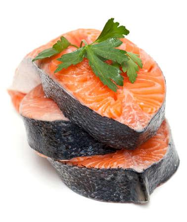 salmon and parsley photo
