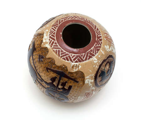 vase in egyptian style photo