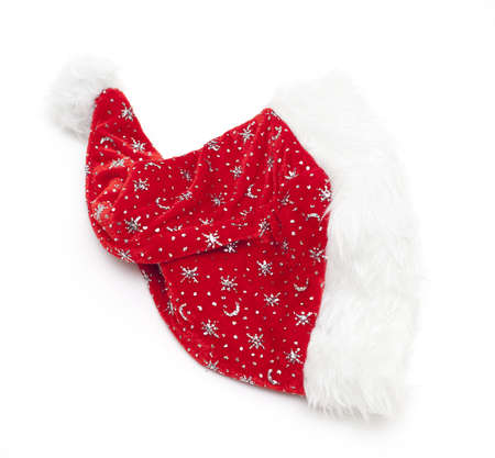 Santa's hat isolated photo