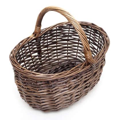 cepelia: basket over white