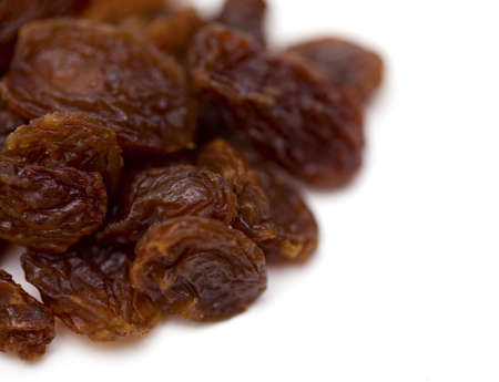 raisins (sultana) and empty space for your text photo