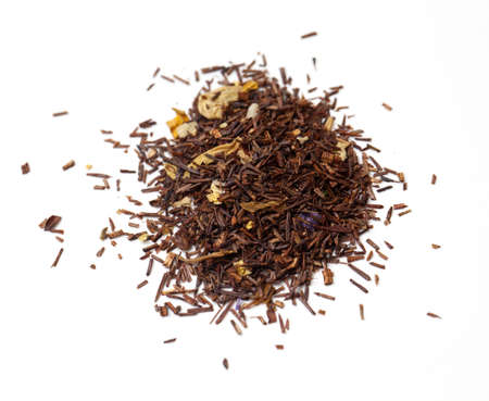 rooibos tea on white photo