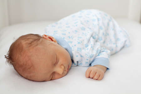 newborn sleeping photo