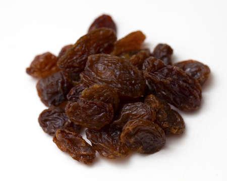 sultana: Sultana raisins isolated on white