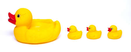 rubber duck family photo
