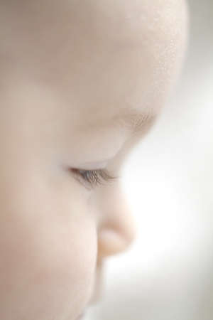 baby eye lashes photo