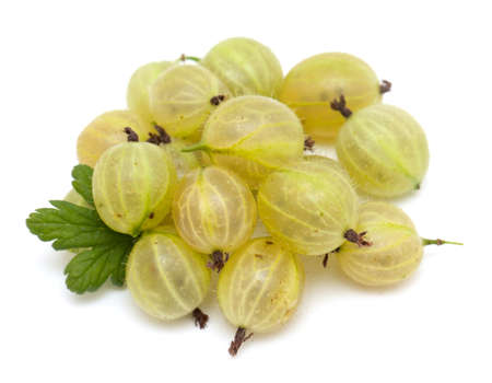 mellow: gooseberry isolated on white