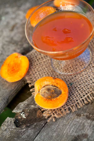 marillenmarmelade: frische Aprikosen-Marmelade