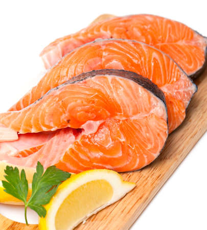 raw salmon photo