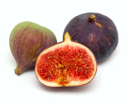 figs isolated on white background photo