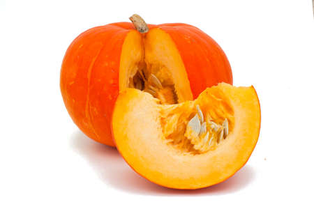 pumpkin isolated on white background photo