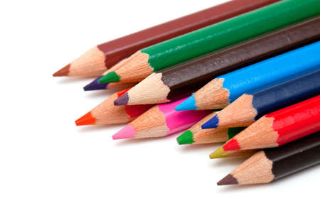 colorful pencils photo