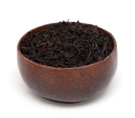 tea on wooden bowl Stock Photo - 16536811