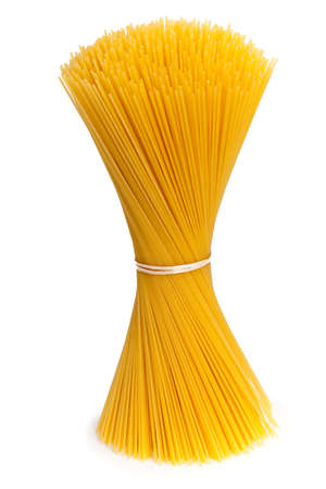 spaghetti isolated on white background Stock Photo - 17439983