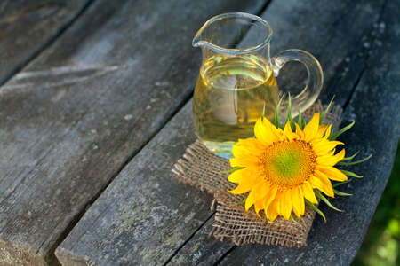 sunflower oil photo