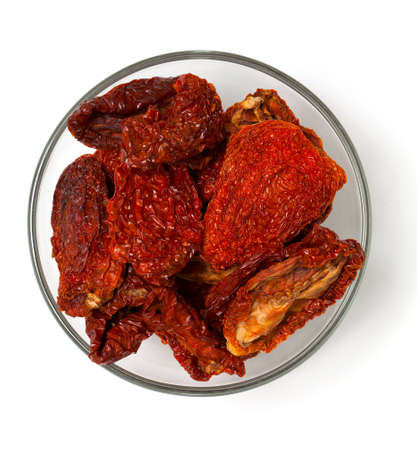 domates: dried tomatoes in a bowl