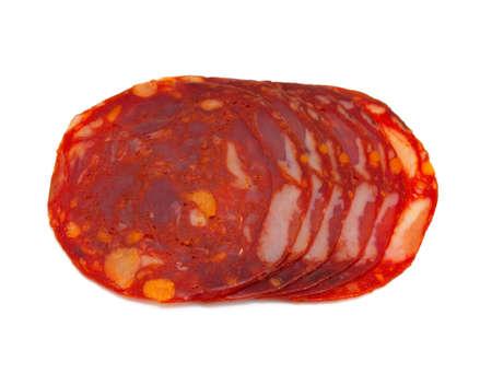 slices of chorizo photo