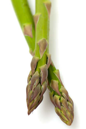 asparagus isolated on white background photo