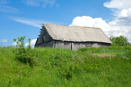 old rural house  photo