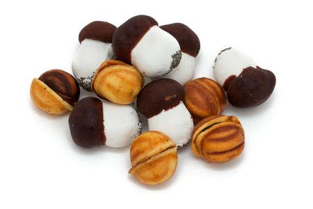 mushroom and nut cookies photo