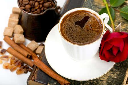 fresh coffee photo