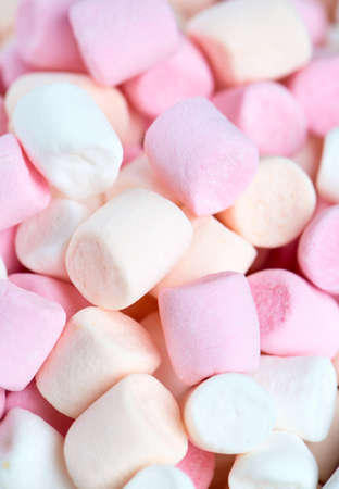 marshmallow background Stock Photo
