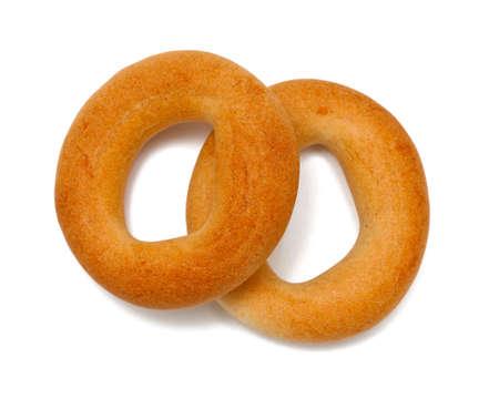 ring-shaped bagel photo