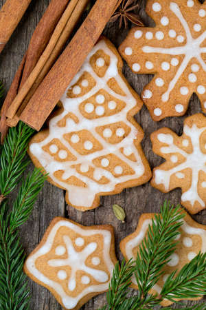 spicy Christmas cookies  photo