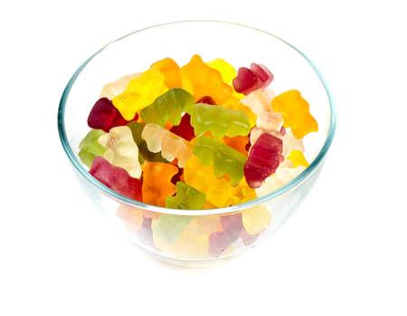 gummie: gummy bears in a bowl