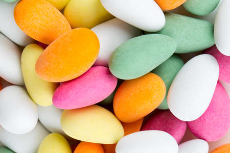 sugared almonds photo