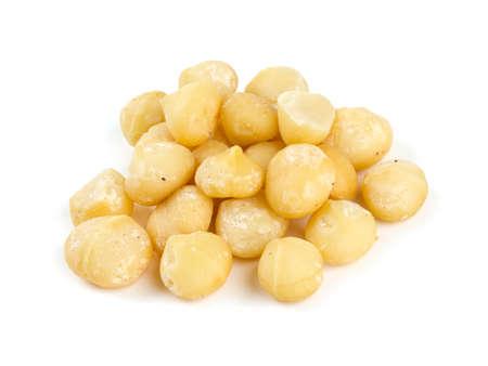 macadamia: noix de macadamia Banque d'images