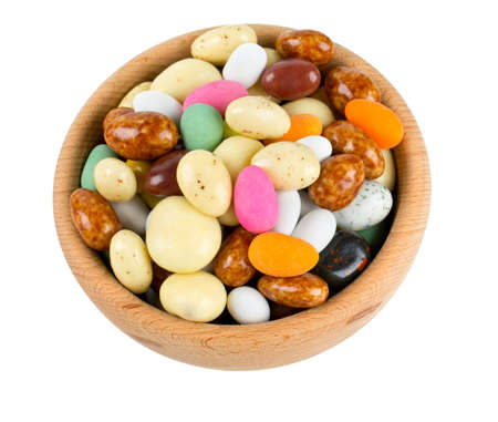 sugar and chocolate covered nuts photo