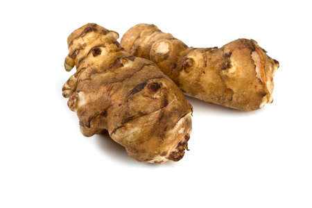 jerusalem artichoke: jerusalem artichoke isolated