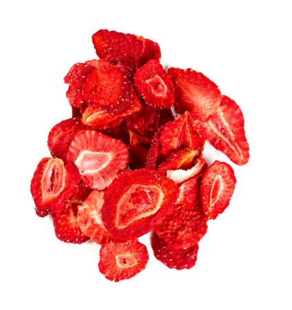 dehydrated: Dehydrated sliced strawberries