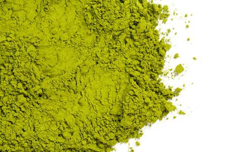 powdered green tea Matcha Foto de archivo