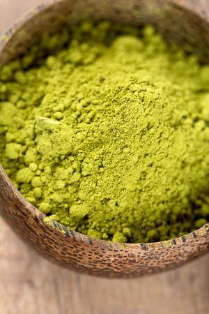 japanese cookery: green matcha tea