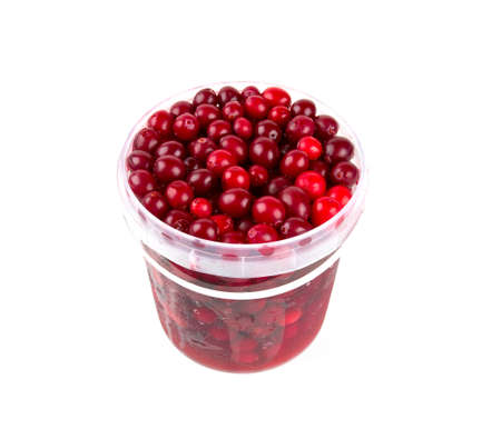 cranberries: Cranberries isolated