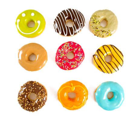 kleurrijke donuts